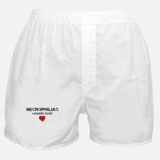 Necrophiliac Boxer Shorts