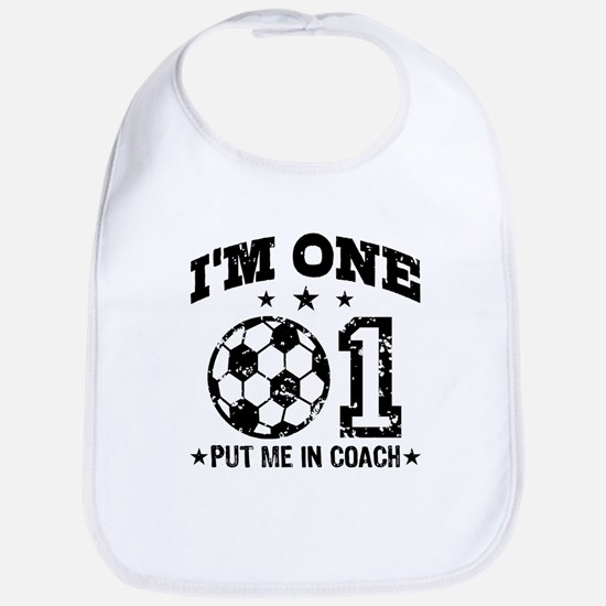 Cute 1 Year Old Soccer Bib