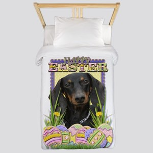 Easter Egg Cookies - Doxie Twin Duvet