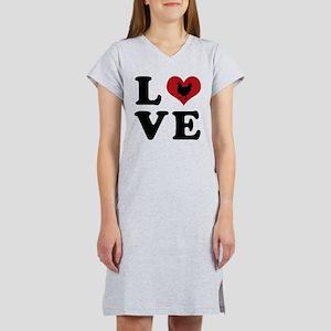 LOVE Chickens Women's Nightshirt