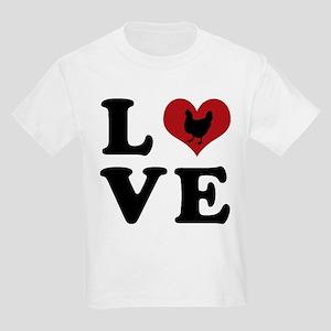 LOVE Chickens Kids Light T-Shirt