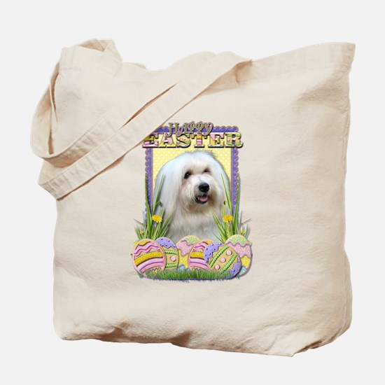 Easter Egg Cookies - Tulear Tote Bag