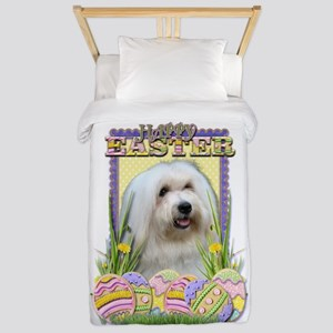 Easter Egg Cookies - Tulear Twin Duvet
