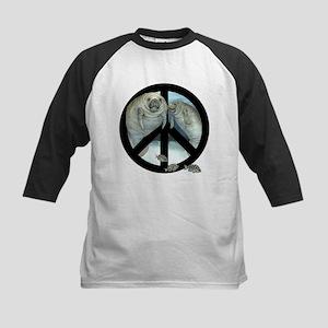 peace manatee Baseball Jersey