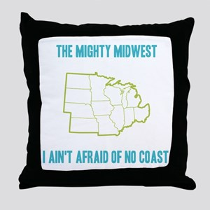 the Mighty Midwest Throw Pillow