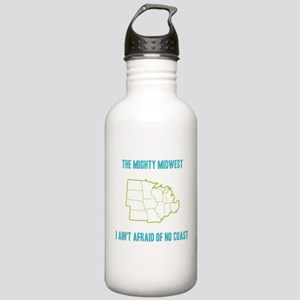 the Mighty Midwest Stainless Water Bottle 1.0L