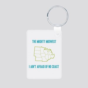 the Mighty Midwest Aluminum Photo Keychain
