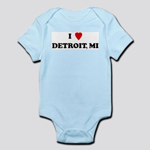 I Love Detroit Infant Creeper