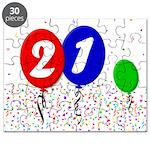 21st Birthday Puzzle