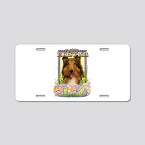 Easter Egg Cookies - Corgi Aluminum License Plate
