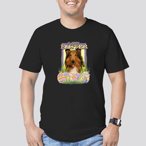 Easter Egg Cookies - Corgi Men's Fitted T-Shirt (d