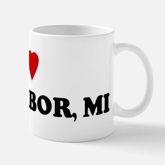 I Love Ann Arbor Mug
