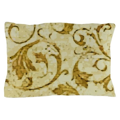 Antique Swirls Pillow Case