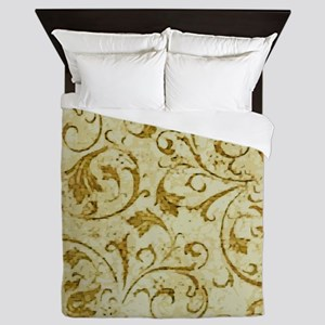 Antique Swirls Queen Duvet