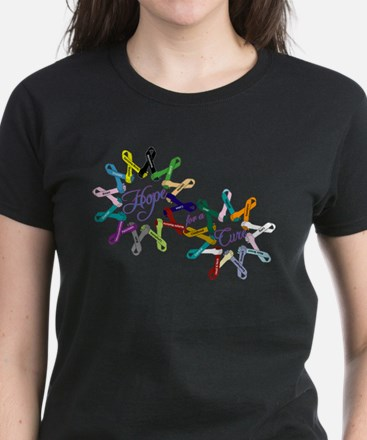 Cancer Ribbons_front T-Shirt