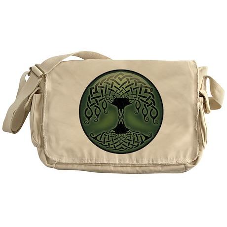 Cup of Green Messenger Bag