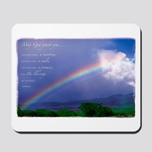 Rainbow Blessing Mousepad
