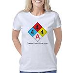 hazmat_10x10_4x4x4_adulter Women's Classic T-Shirt
