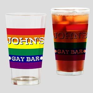 John's Gay Bar - Drinking Glass