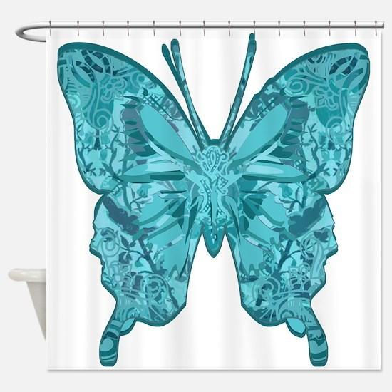 Blu Bottega Shower Curtain