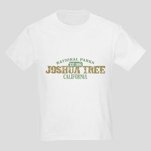 Joshua Tree National Park CA Kids Light T-Shirt