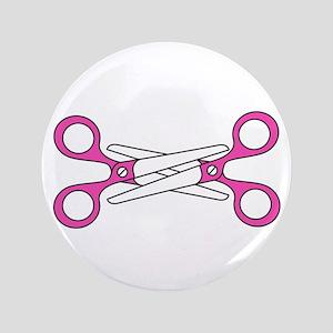 "Scissoring 3.5"" Button"