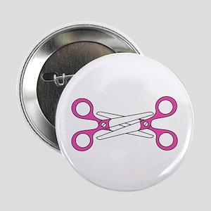 "Scissoring 2.25"" Button"