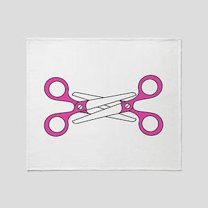 Scissoring Throw Blanket