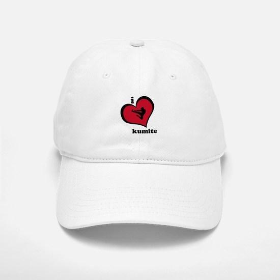 I Love Kumite Karate Gear - Baseball Baseball Cap