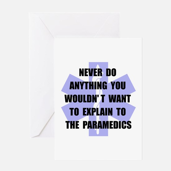 Paramedics Greeting Card