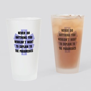 Paramedics Drinking Glass
