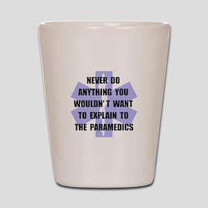 Paramedics Shot Glass