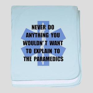 Paramedics baby blanket