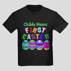 First Easter Kids Dark T-Shirt
