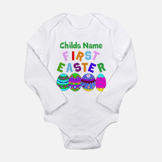 First Easter Long Sleeve Infant Bodysuit