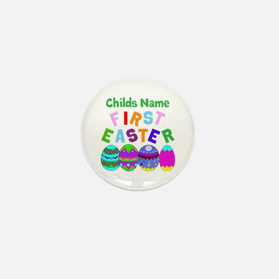 First Easter Mini Button