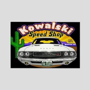 Kowalski Speed Shop - Color Rectangle Magnet