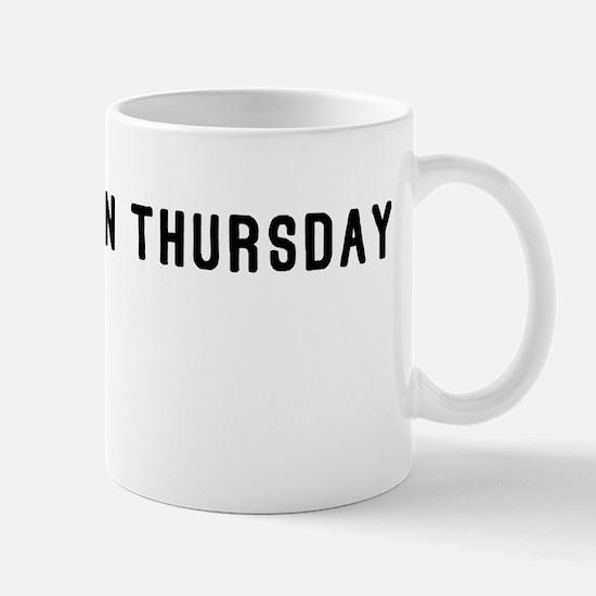 Keep Thor In Thursday Mug