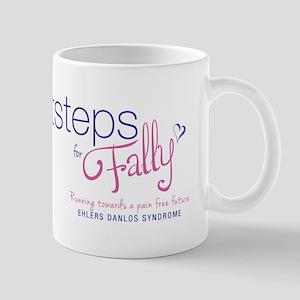 FootstepsForFally_logoFINAL Mugs