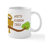 Hoot's Wisdom Tree Mug
