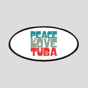 Peace Love Tuba Patches
