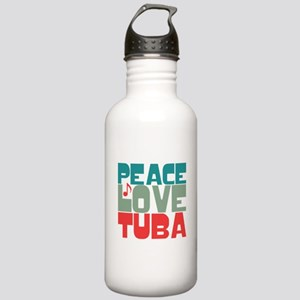 Peace Love Tuba Stainless Water Bottle 1.0L