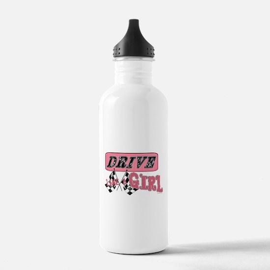 Drive Like A Girl Sports Water Bottle