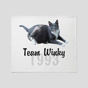 Winky Throw Blanket