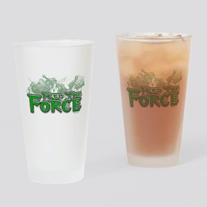 Feel The Force Drinking Glass