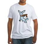 Chocoholic Bunny Fitted T-Shirt