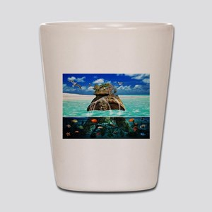 Turtle Island Fantasy Seclude Shot Glass