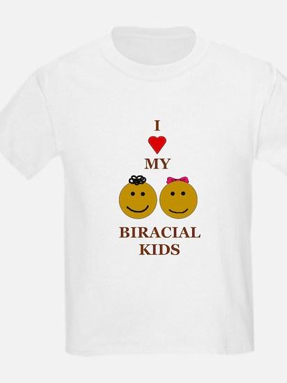 Biracial kids/ Biracial Pride Kids T-Shirt
