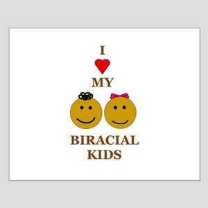 Biracial kids/ Biracial Pride Small Poster