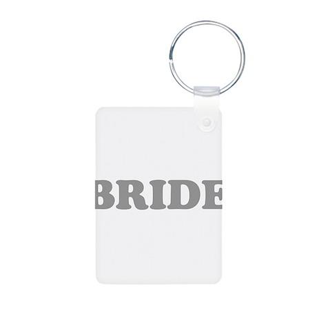 Bride Silver #5 Aluminum Photo Keychain